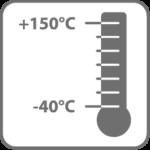 temperaturbeständig -40°C– +150°C