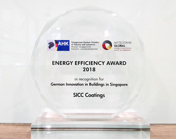 Auszeichnung Energy Efficiency Award