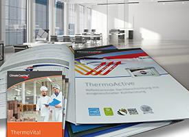 Service - Broschüre Werbemittel