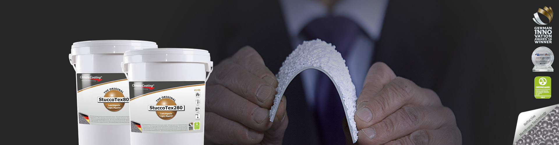 StuccoTex – ultimate textured lightweight plaster that reduces thermal stresses
