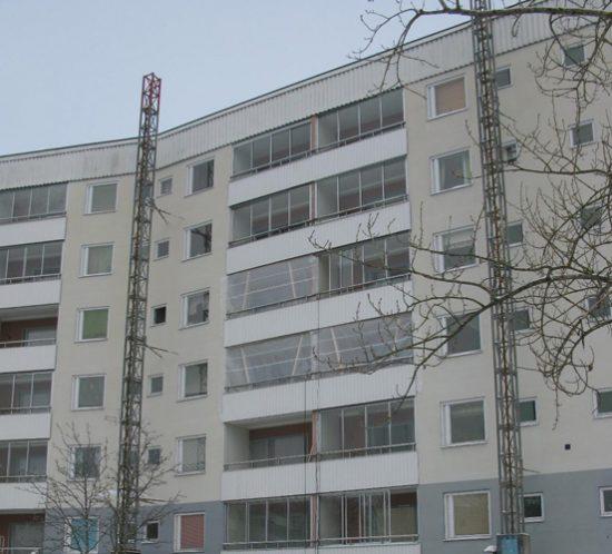 Wohnblöcke in Botkyrka 01