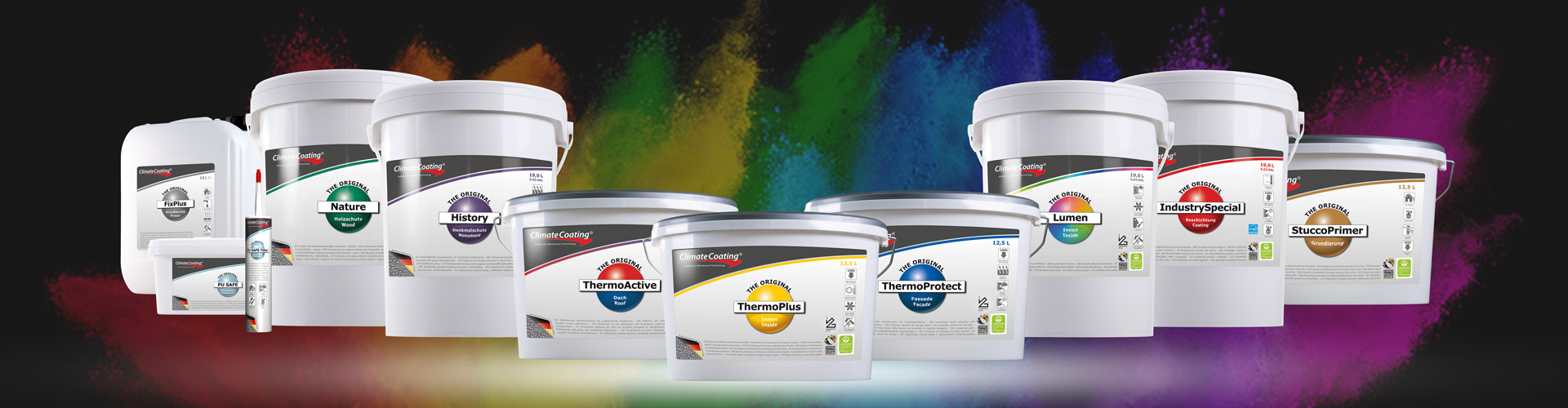 Paint with brains saves energy and costs – Climate-active functional coating with innovative energy-saving effect