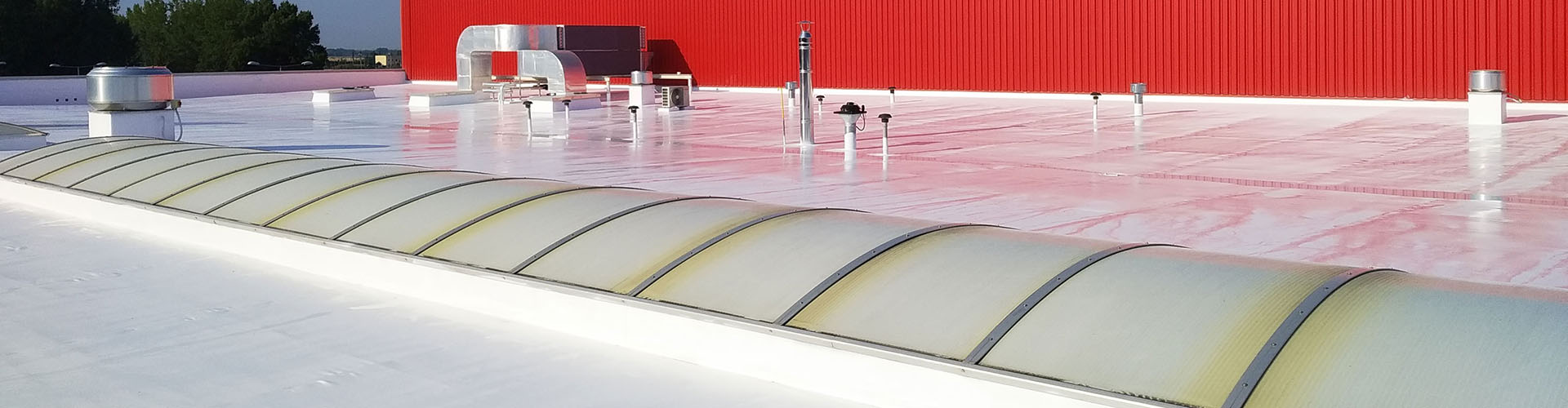Up to 91.4% sunlight reflection! Cooler roofs thanks to ThermoActive roof coating
