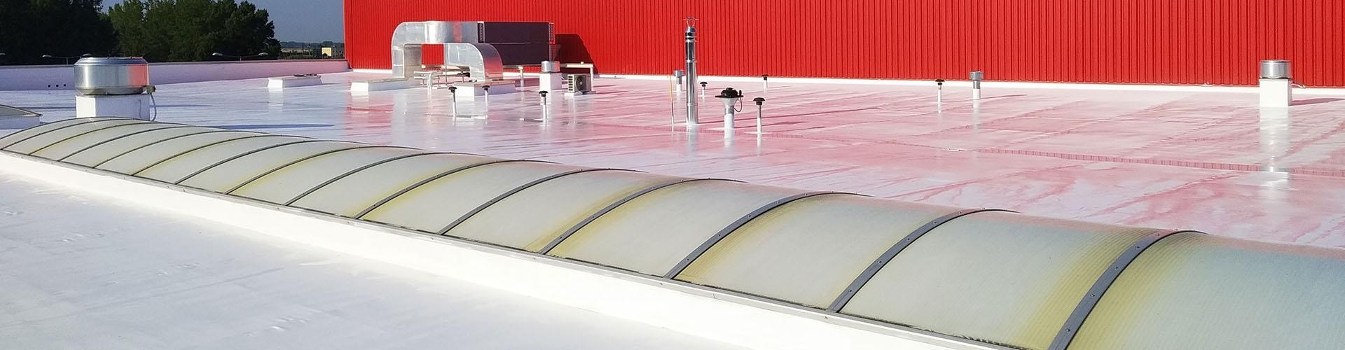Bis zu 91,4% Sonnenlichtreflexion!  Kühlere Dächer dank Dachbeschichtung ThermoActive